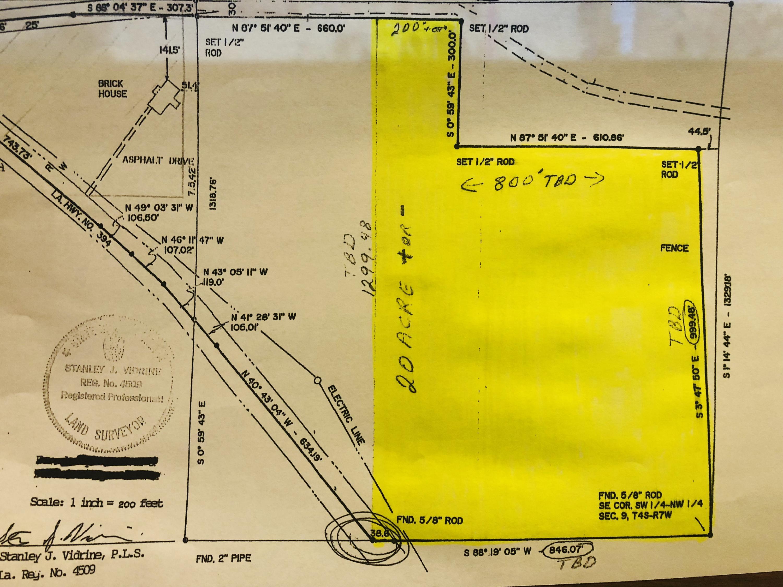 DeRidder land for sale,  250 Spillway Rd, DeRidder LA - $164,900