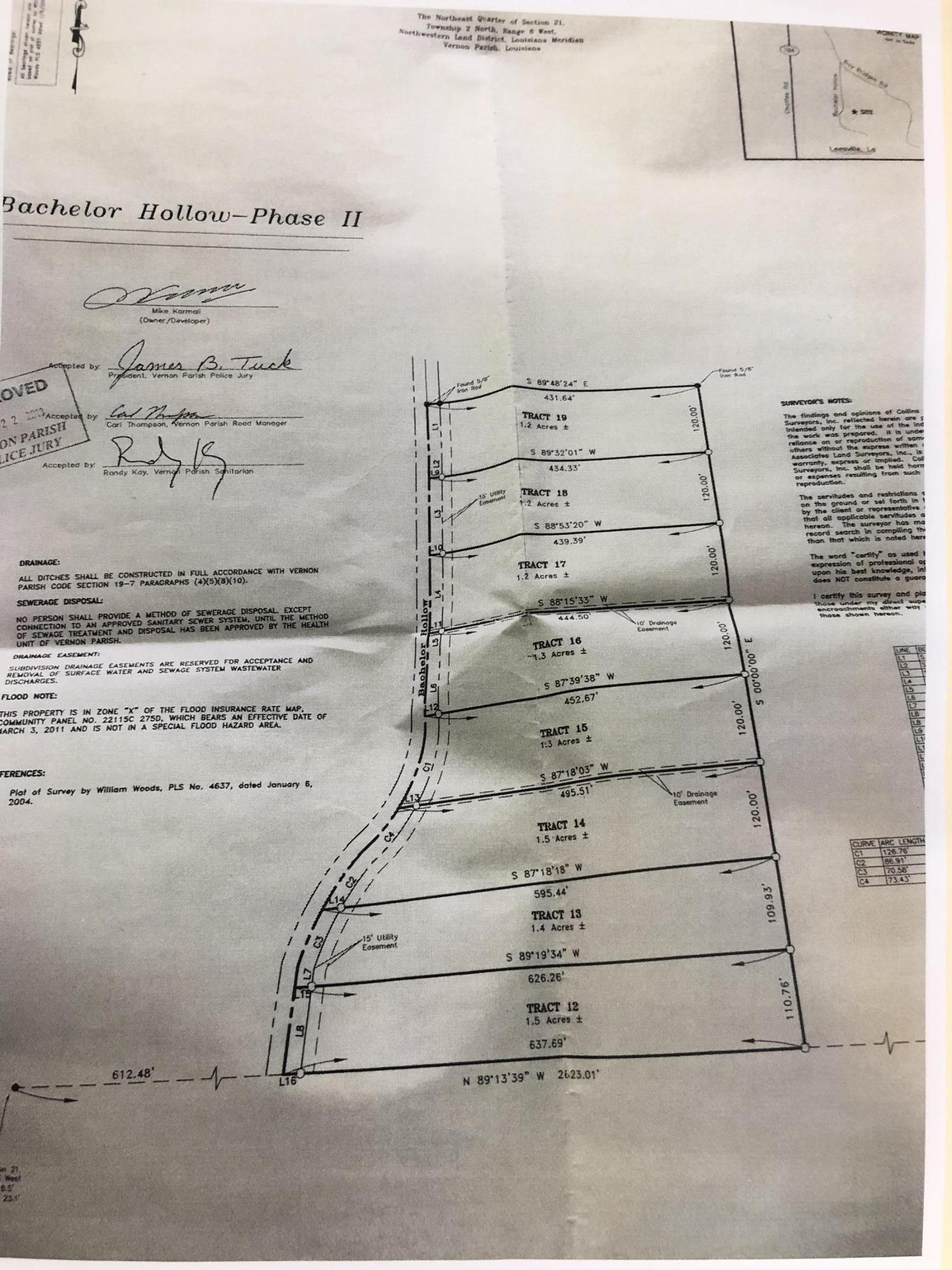 Leesville land for sale,  Bachelor Hollow Lot 13, Leesville LA - $20,900