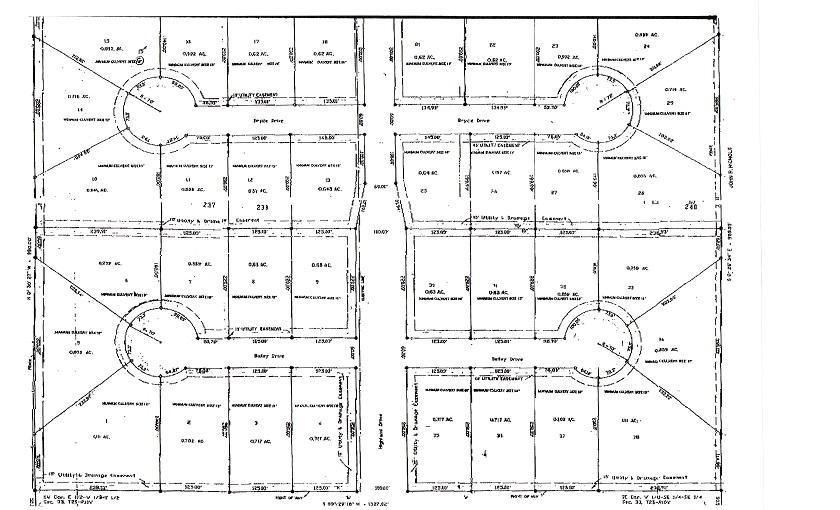 DeRidder land for sale,  Bailey Dr. Lot 37, DeRidder LA - $15,000
