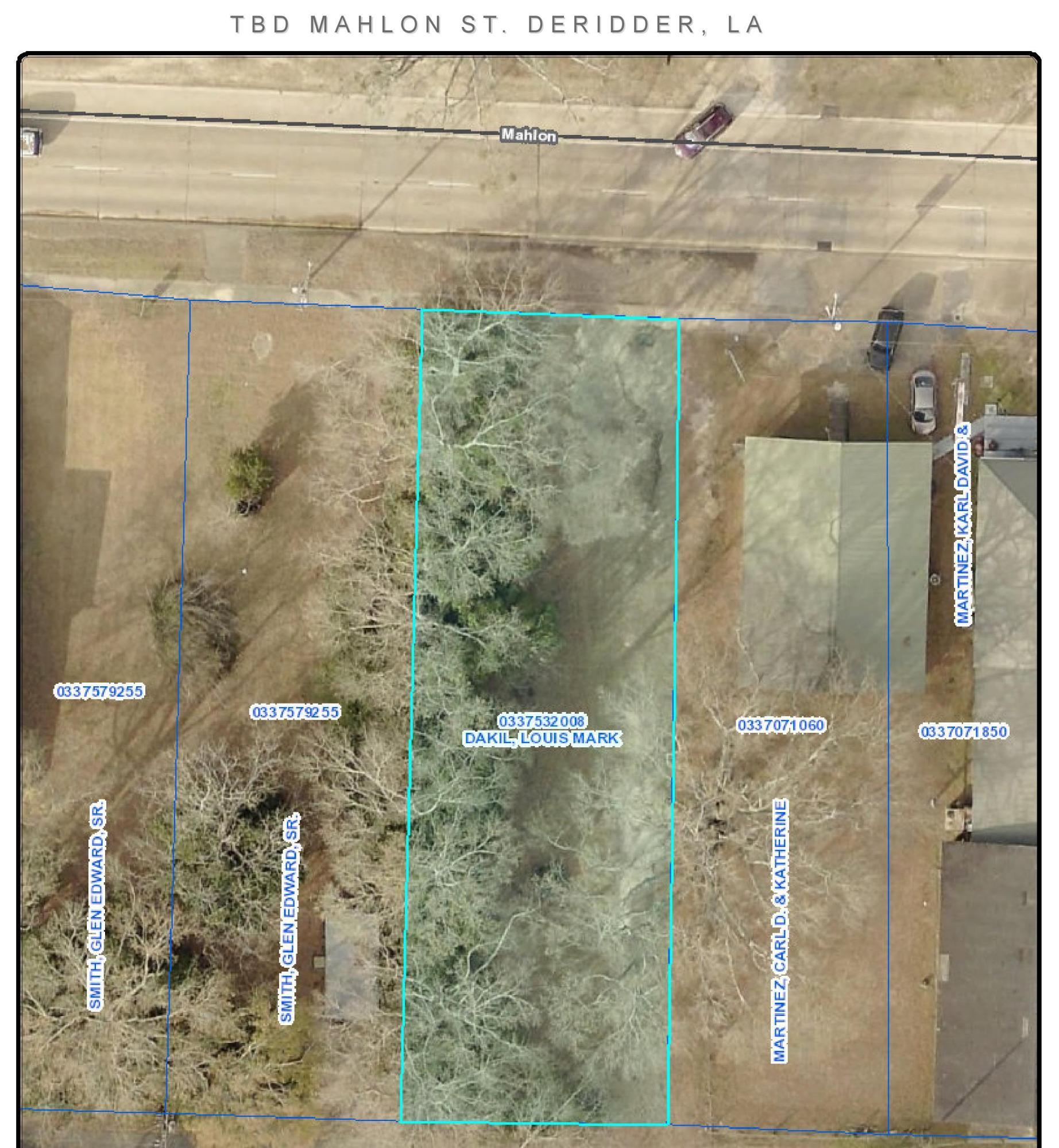 DeRidder land for sale,  Mahlon St, DeRidder LA - $79,900