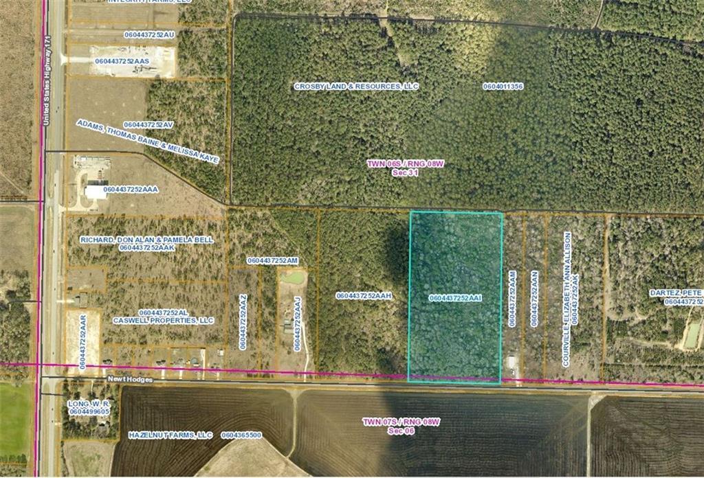 Ragley land for sale,  Newt Hodges Rd, Ragley LA - $220,000