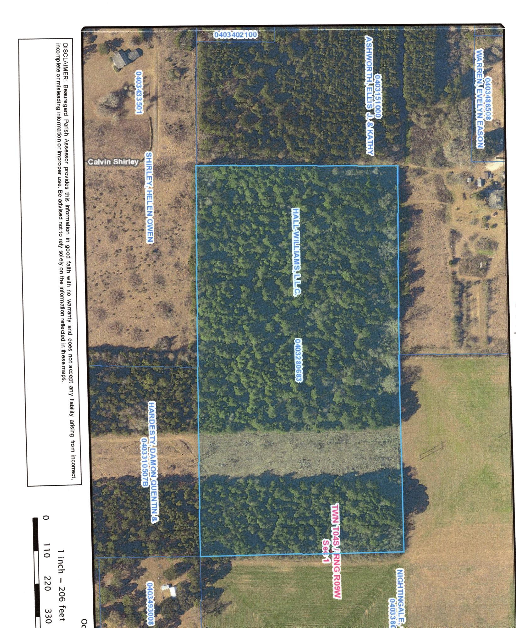 DeRidder land for sale,  TBD MENNONITE RD, DeRidder LA - $50,000
