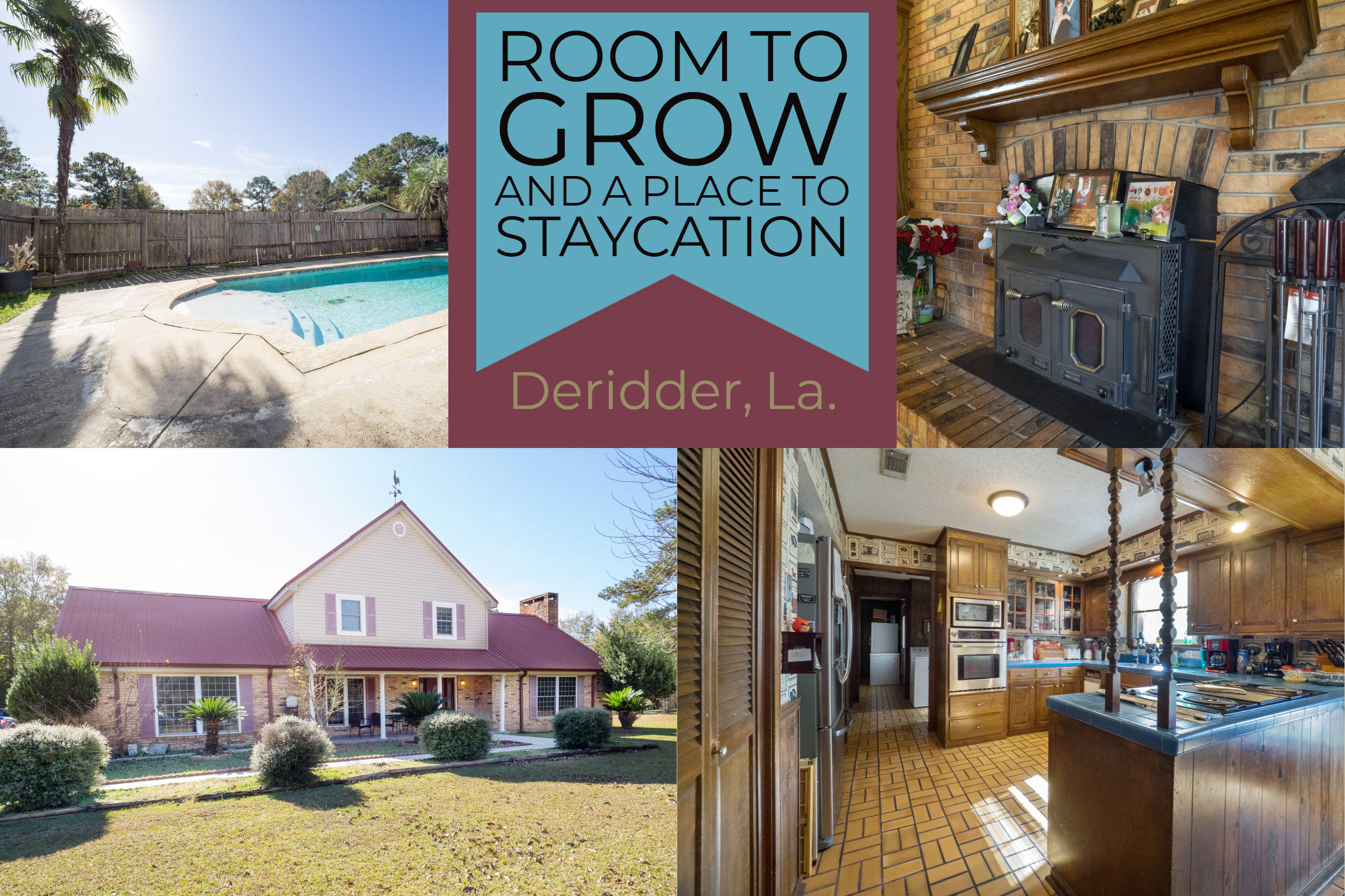 DeRidder home for sale, 291 Tanglewood Loop, DeRidder LA - $219,900