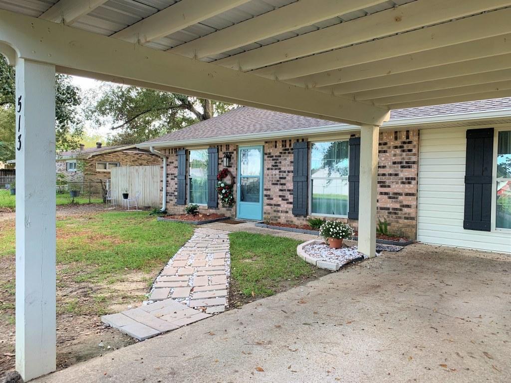 DeRidder home for sale, 513 West Dr, DeRidder LA - $135,000