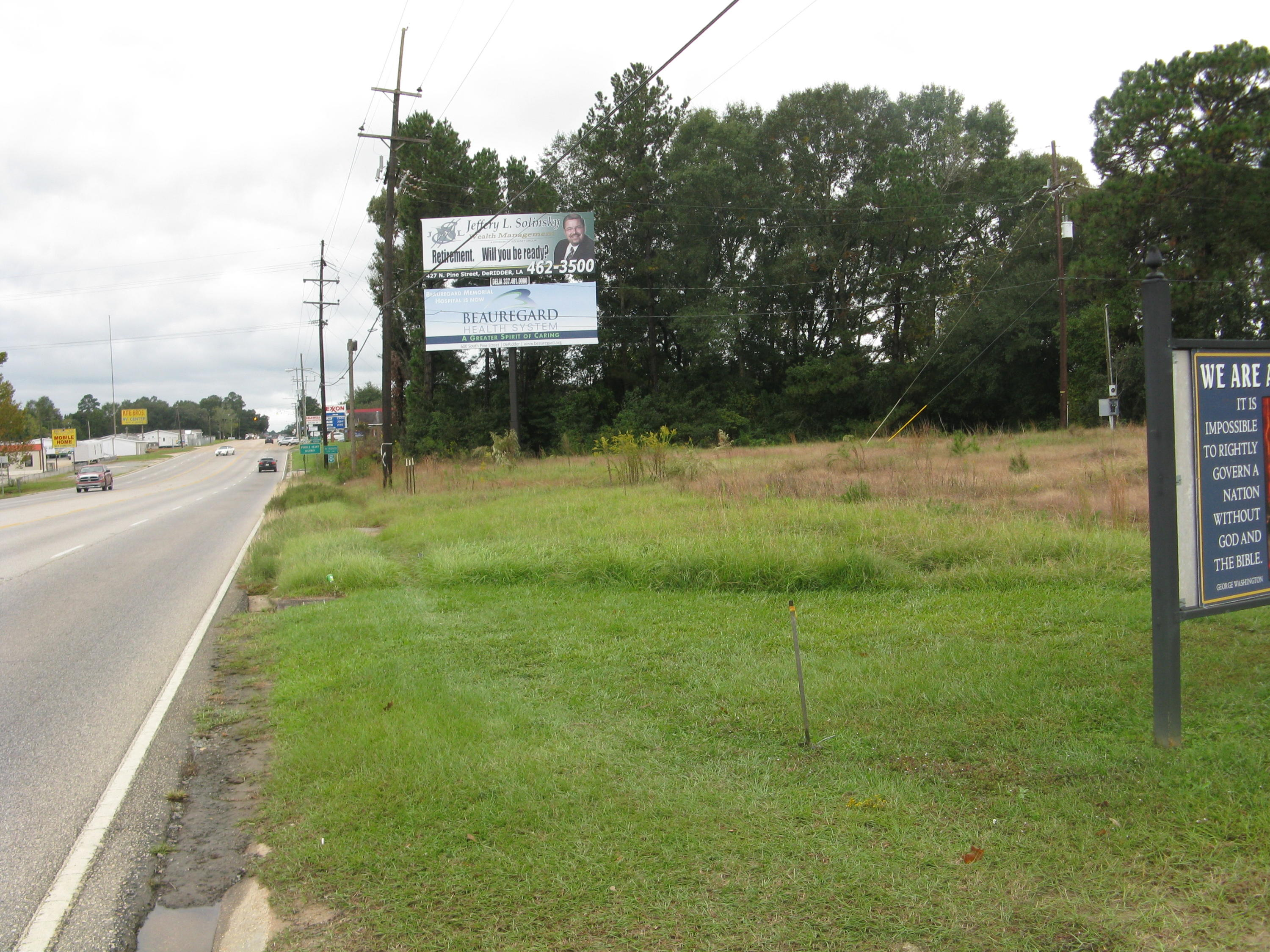 DeRidder commercial property for sale, TBD HWY 171, DeRidder LA - $275,000