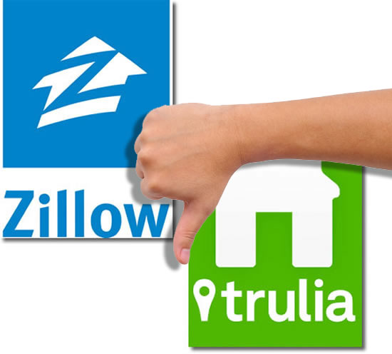 Zillow Home Search New: Zillow And Trulia Agent Reviews