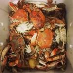 Blue crab - a Louisiana dish