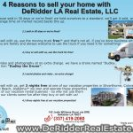 4 reasons to list with DeRidder LA Real Estate