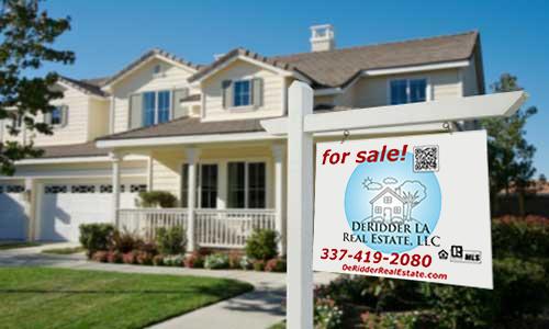 List your home for sale with DeRidder LA Real Estate, LLC