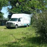 DeRidder LA Real Estate moving van