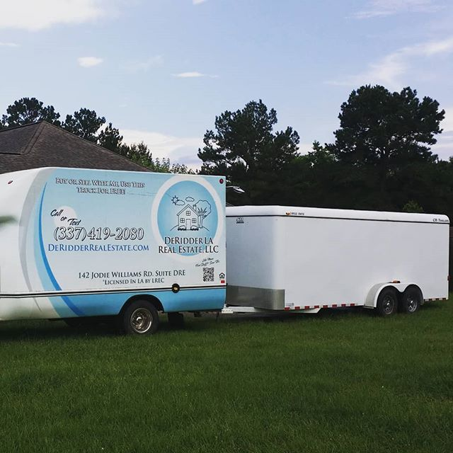 Providing real estate services to our client for a better moving experience. Our PODS have wheels! We drop it off at your house so you can load it at your own convenience.  #deridder #Leesville #FortPolk #bettermove