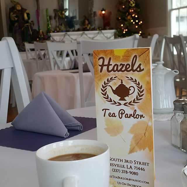 Hazel's Tea Parlor in Leesville.  Have you tried it?  If not you're seriously missing out.  #deridder #leesville #fortpolk #hazels #hazelsteaparlor