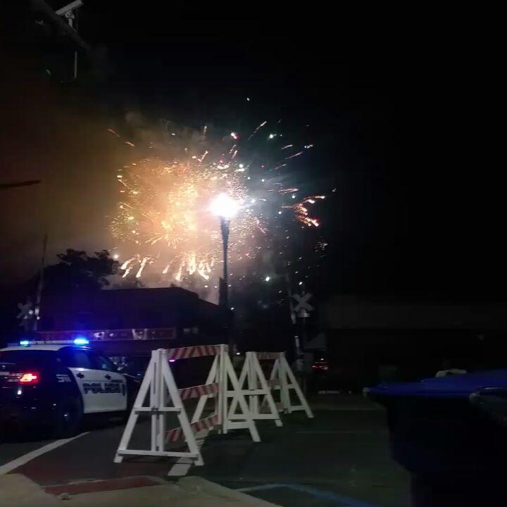 DeRidder fireworks show for fourth of July was a hit!  #deridderrealestate #deridder #deritre