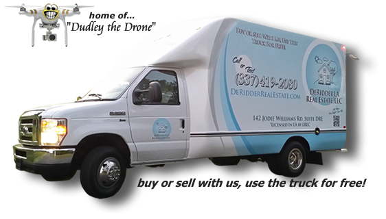 DeRidder LA Real Estate, LLC moving van