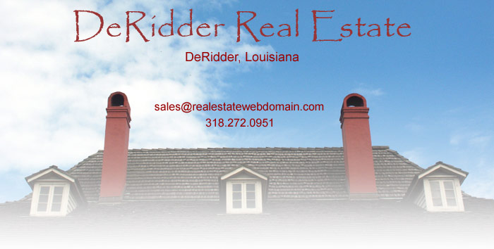 DeRidder Real Estate