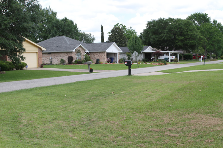 Green Acres subdivision, DeRidder LA